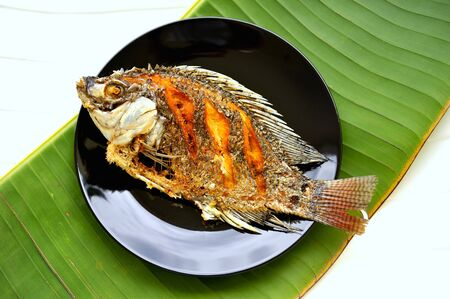 tilapia: Fried tilapia (Thailand)
