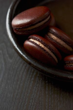 brownness: Bowl of Brown Macaroons