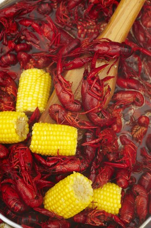 langouste: Cajun Crawfish Boil with Corn on the Cob LANG_EVOIMAGES