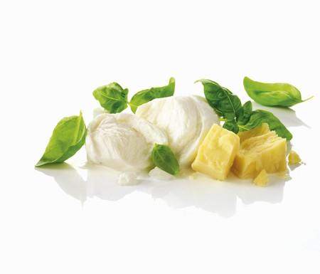 Parmesan: Mozzarella, basil and Parmesan