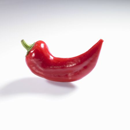 pointed: A pointed red pepper