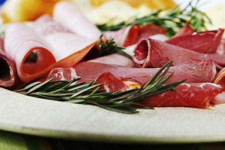 jamones: Deli Meat Disco; Laminado de Roast Beef y Hams; Romero