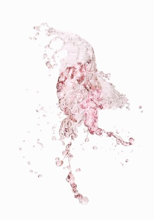 squirted: A splash of rose wine