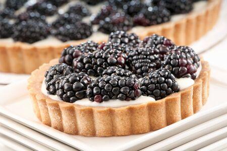 brambleberry: Individual Mascarpone and Blackberry Tart