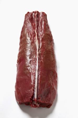 saddle: Raw saddle of venison