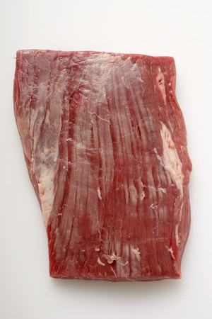 flank: Raw flank steak