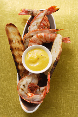 gambas: Barbecued shrimps with aioli LANG_EVOIMAGES