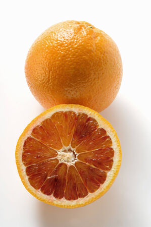 noone: A whole and a half of a blood orange