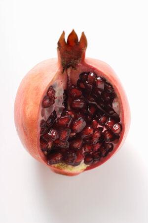 cut off: Pomegranate, a piece cut off