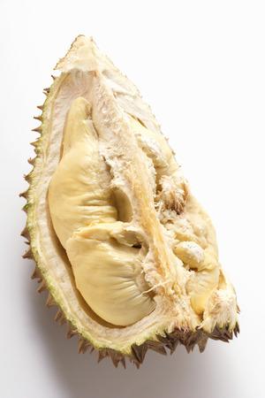 quartered: Durian (a quarter) LANG_EVOIMAGES