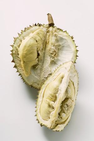 quartered: Durian (a half and a quarter)