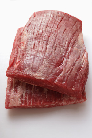 flank: Raw flank steaks