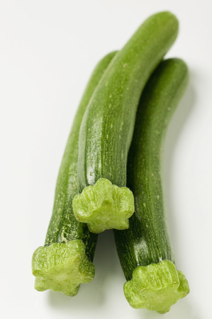 courgettes: Three courgettes