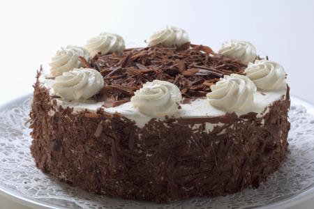cream cake: Chocolate cream cake