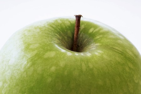 granny smith apple: Granny Smith apple (detail) LANG_EVOIMAGES