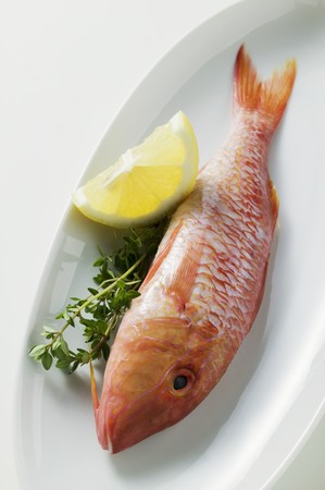 mullet: Fresh red mullet with lemon and thyme LANG_EVOIMAGES