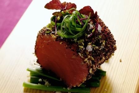 tunafish: Marinated tuna