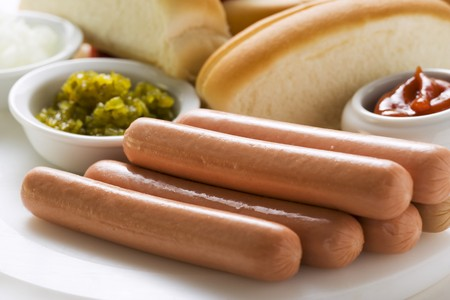 scalded sausage: Ingredients for hot dogs