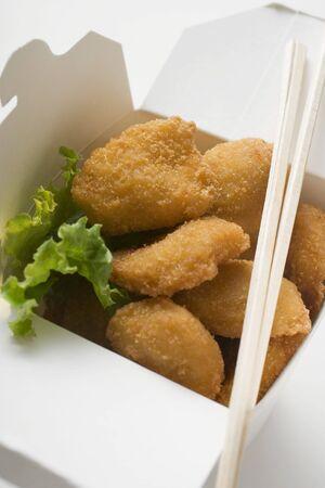 nuggets de poulet: Nuggets de poulet � emporter