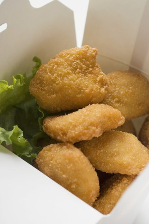 nuggets pollo: Nuggets de pollo para llevar