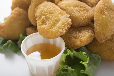 nuggets de poulet: Nuggets de poulet � la sauce aigre-douce
