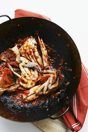 chilli sauce: Crab in a chilli sauce LANG_EVOIMAGES