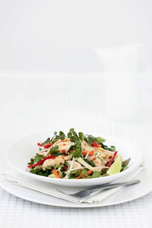 chicken salad: Sweet-and-sour chicken salad