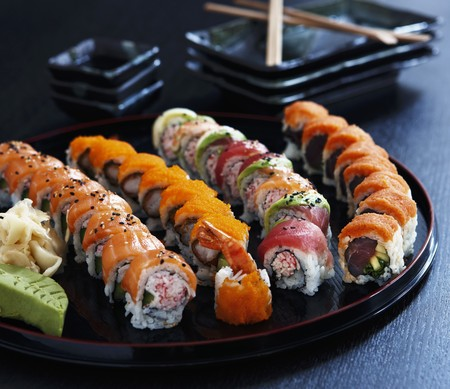 fingerfood: Sushi platter