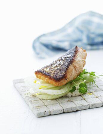 foeniculum vulgare: A fish sandwich