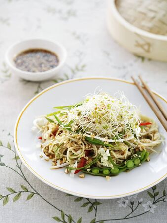 asian noodle: Asian noodle salad