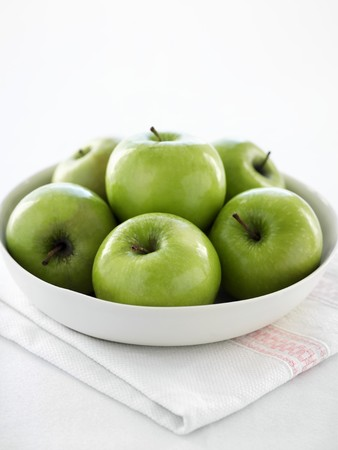 granny smith: Granny Smith apples LANG_EVOIMAGES