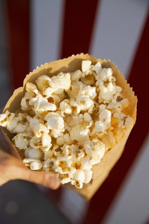 brownness: A paper bag full of popcorn