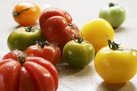 heirloom: Assorted Wet Heirloom Tomatoes