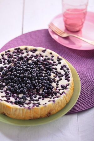 wildberry: Cheesecake with berries and white chocolate