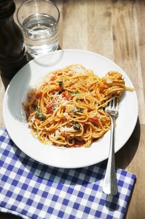 Napoli: Spaghetti Napoli (spaghetti with tomato sauce)