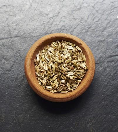 finocchio: Una ciotola di semi di finocchio