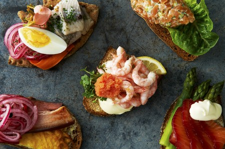 Smörgasar (Swedish open sandwiches)