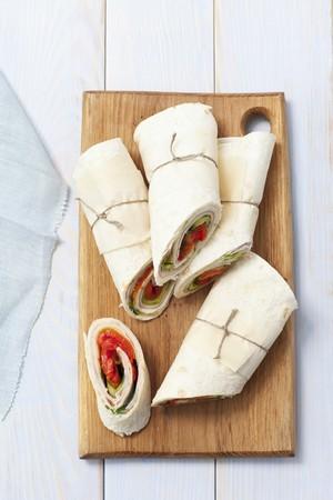 jamon y queso: Jam�n, queso y tomate abrigos