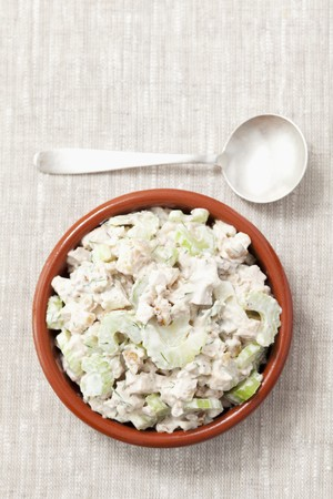 spreads: Grilled chicken, celery, walnut and mayonnaise spread