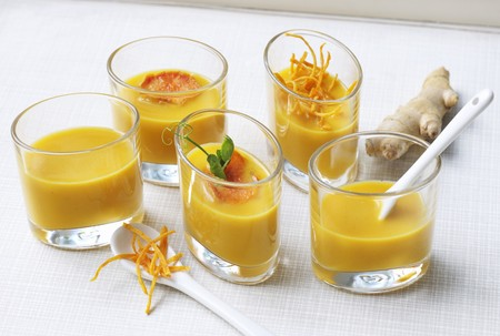 sweet course: Sweet potato and ginger soup LANG_EVOIMAGES