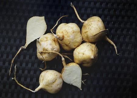 root vegetables: Ortaggi a radice Jicama (Thailandia)