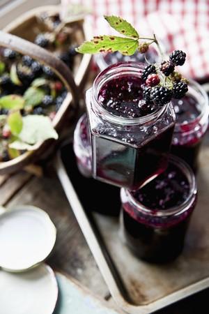 jams: Blackberry jam