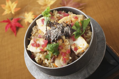grain and cereal products: Kamameshi (traditional Japanese rice dish)