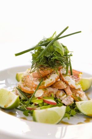 norvegicus: Pesto-baked scampi with dill and limes LANG_EVOIMAGES