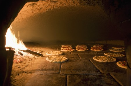 woodfired: Focaccia in a wood-fired oven
