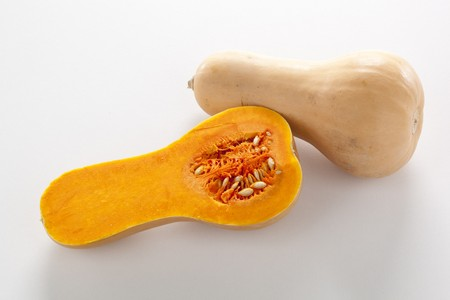Butternut squash, whole and halved LANG_EVOIMAGES