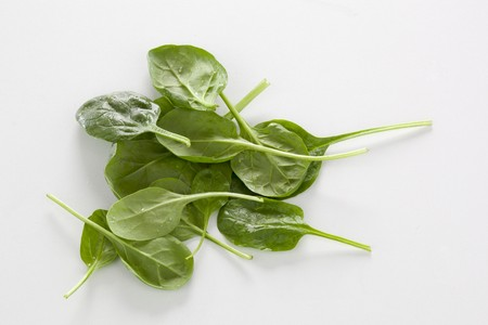 fresh spinach: Fresh spinach leaves LANG_EVOIMAGES