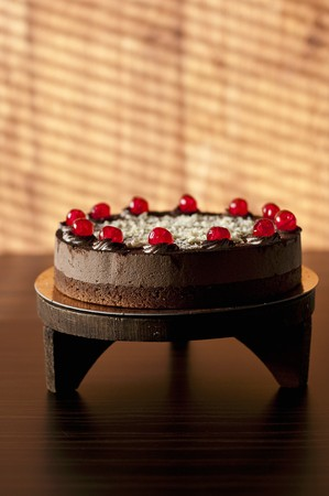glace: Black Forest Gateau with glace cherries