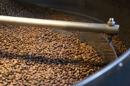 coffeebeans: Roasting Coffee Beans in a Coffee Plant
