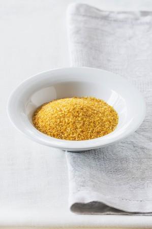 couscous: Couscous in a white bowl LANG_EVOIMAGES